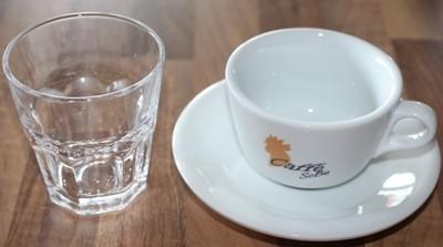 Kaffee- und Wasserverkostung